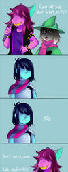 [DELTARUNE] Kris eyes! by TheTimeLimit