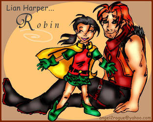 Roy Harper and LianRobin by angel-gidget