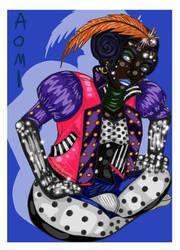 Aomi the Blue by Yorulla