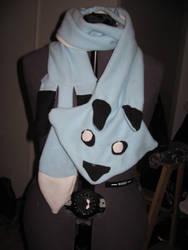 Blue Fox Scarf by Yorulla
