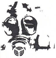 Gas Mask 2 by almost5519