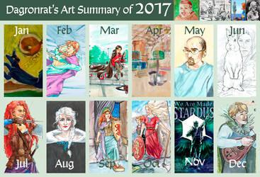 2017 Art Summary by DagronRat