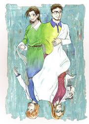 Miyano Family remake with Shinreddear by DagronRat