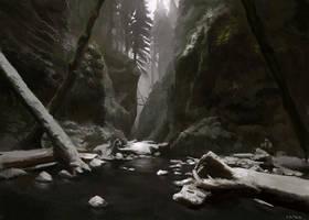 Creek by catbib