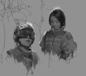 sketching by catbib