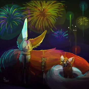 Happy New Year ! by Foxface-x3