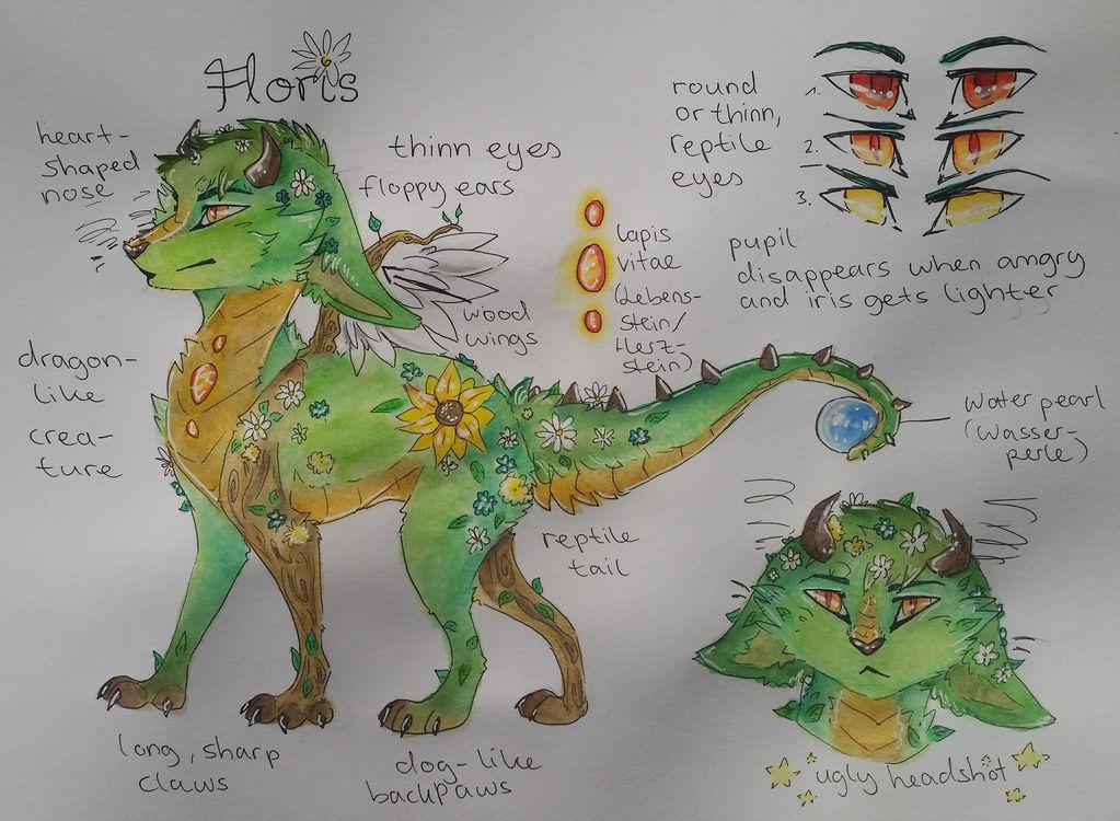 Floris | Character Sheet by Foxface-x3