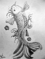 koi fish by pgmt