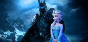Elsa and the Lich King 2 by Dark-Rider28