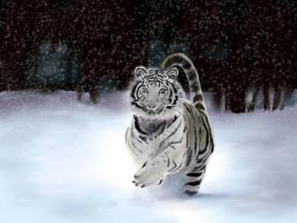 White Tiger by Lady-Sephrenia