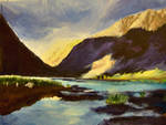 Glencoe, Scotland by Chibilib