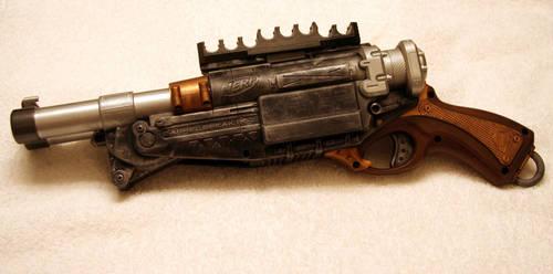 SteamPunk Nerf Shotgun by JohnsonArmsProps