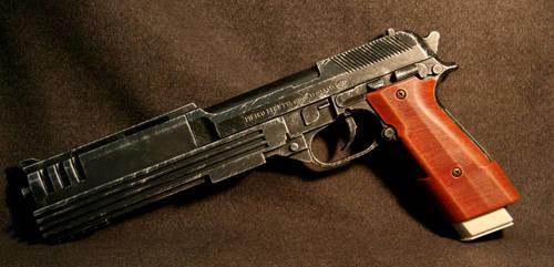 Custom Beretta Pistol by JohnsonArmsProps