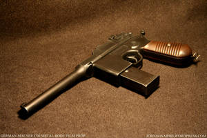Ger Mauser C96 Custom Prop by JohnsonArmsProps