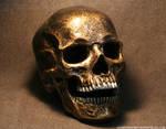 Steampunk Skull WIP by JohnsonArmsProps