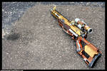 Steampunk Rifle - Outdoors Photo 1 by JohnsonArmsProps