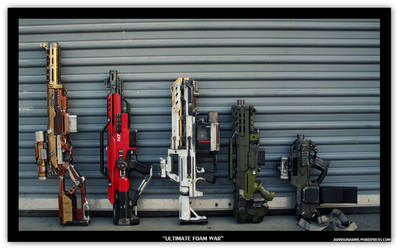 Ultimate Custom Nerf Collection 1 by JohnsonArmsProps