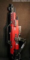 Mass Effect-themed Nerf Stampede 3/9/12 by JohnsonArmsProps