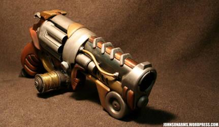 Tesla Revolver by JohnsonArmsProps