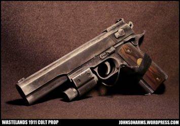 Wastlands 1911 Colt Prop by JohnsonArmsProps