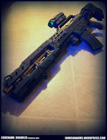 Custom NERF - Codename: Brawler  -Progress Shot by JohnsonArmsProps