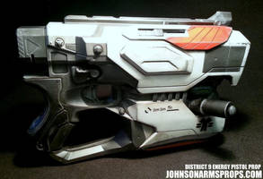 District 9 Themed Nerf Diatron by JohnsonArmsProps