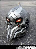 Halo 4 Didact Helmet Paintjob Progress by JohnsonArmsProps