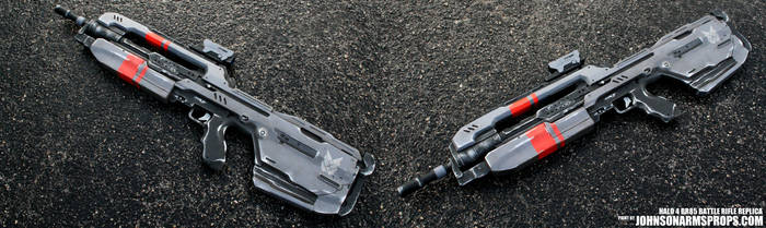 Halo BR-85 Resin Replica by JohnsonArmsProps