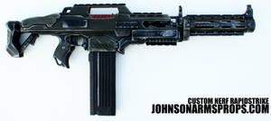 Custom Nerf Rapidstrike H Bar by JohnsonArmsProps