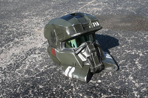 Halo EOD Helmet v2 by JohnsonArmsProps