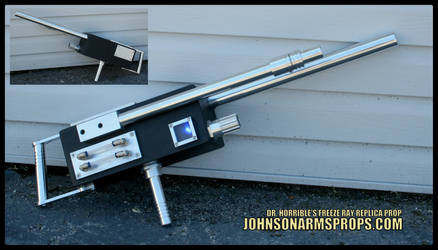 Dr Horrible Freeze Ray - Real Aluminum Version by JohnsonArmsProps