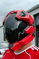Custom Halo Reach Pilot Helmet by JohnsonArmsProps