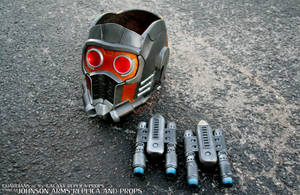 Custom Guardian's of the Galaxy Starlord Props by JohnsonArmsProps