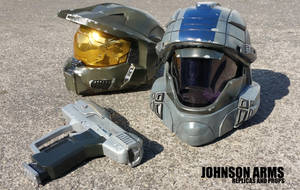 HALO: ODST Replicas by JohnsonArmsProps