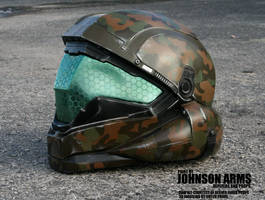 HALO 5 ODST Buck Helmet Replica by JohnsonArmsProps