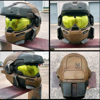 Halo 'Jorge' Grenadier Helmet Replica by JohnsonArmsProps
