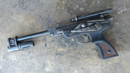 Star Wars DL-18 Replica Blaster by JohnsonArmsProps