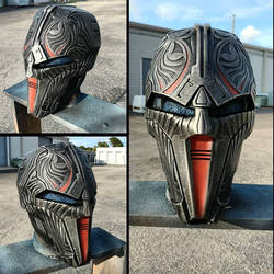 Sith Acolyte Mask Replica - RustySpratt Casting by JohnsonArmsProps