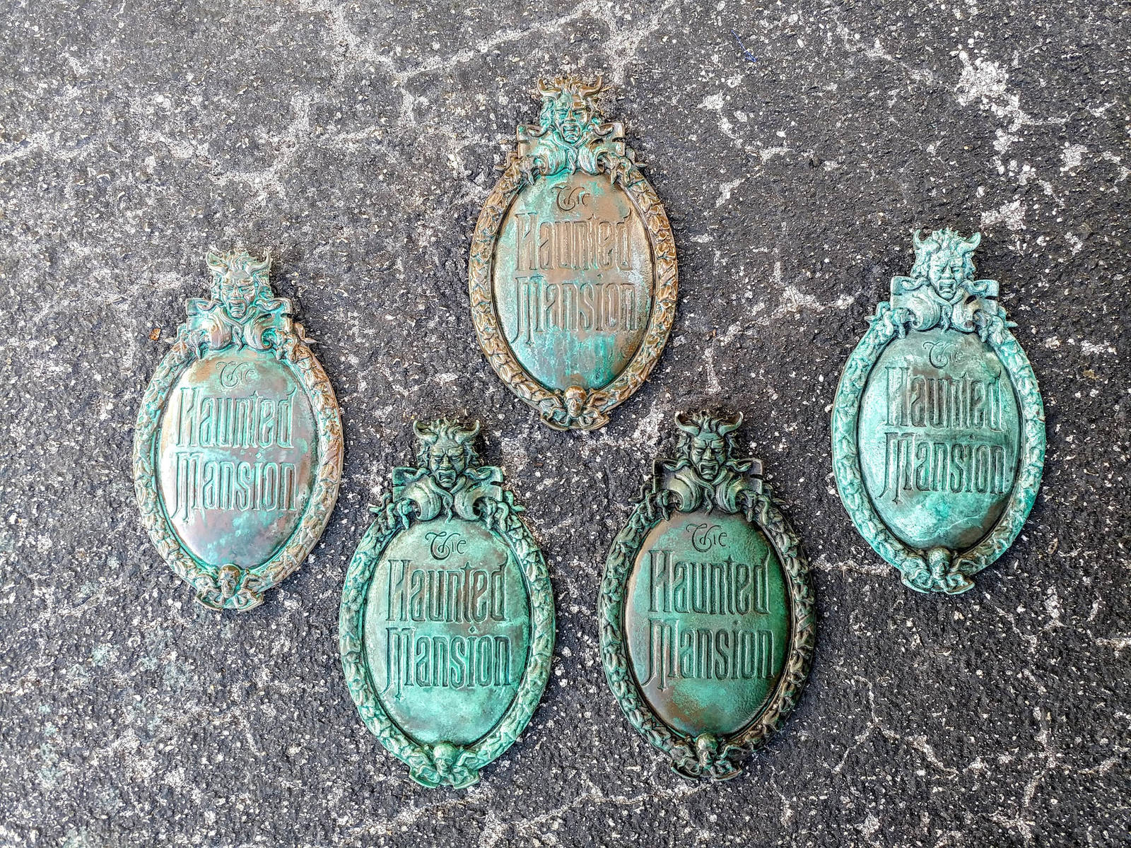 DisneyWorld Haunted Mansion 12in Plaque Replicas by JohnsonArmsProps