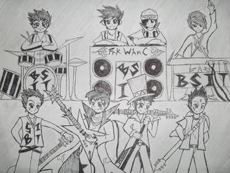 B.S.I.T. Rockers by hazel-nutz
