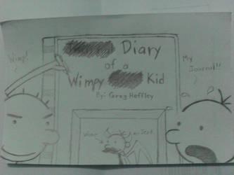 diary of a wimpy kid by hazel-nutz
