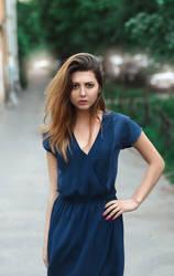 Svetlana Angry street shoot by NikitaJump