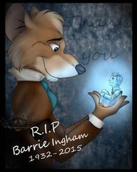 RIP Barrie Ingham by NightMagican