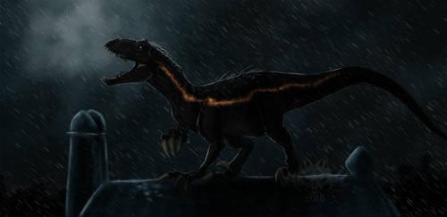Indoraptor by NightMagican