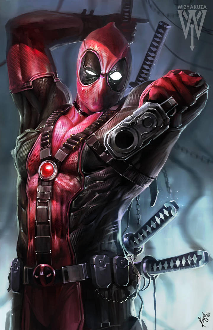 Deadpool By Wizyakuza On Deviantart