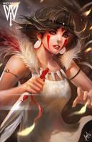 Princess Mononoke by wizyakuza