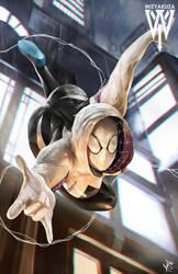 Spider Gwen again 3th i think by wizyakuza