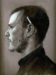 Heath Ledger by goonerscalise