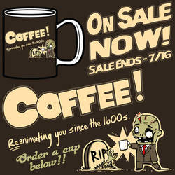 COFFEE! - Available On A Mug! by fablefire