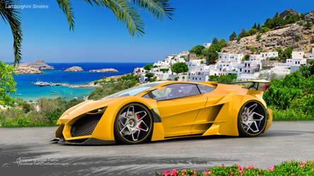 Summer Breeze ( Lamborghini Sinistro ) by mcmercslr
